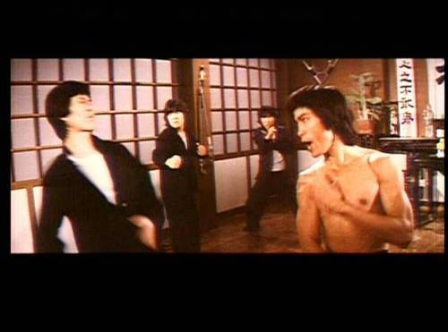 Tony Leung Siu Hung acting as a fake Bruce Lee