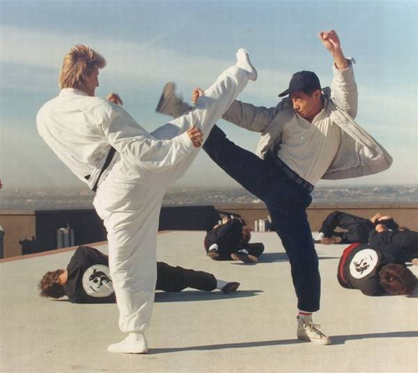 Hong Kong Cinemagic - Interview with the golden boy Jerry Trimble Jet Li Fighting Stance