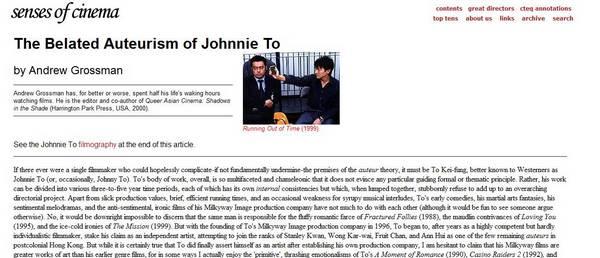 history of hong kong cinema essay