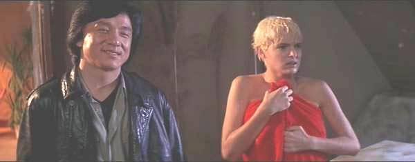 Eva Cobo de Garcia and Jackie in Armour of God II: Operation Condor