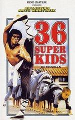 36 Super Kids de Shaolin affiche